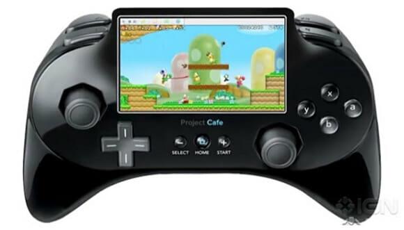 RUMOR: Conceito revela como será o controle do novo console da Nintendo.
