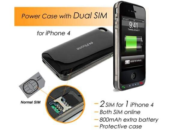 2Phone - 2 cartões SIM e bateria extra para o seu iPhone 4! (com vídeo)