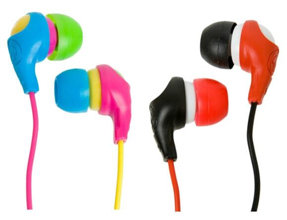 Aerial7 Bullet - Fones de ouvido ultra coloridos.
