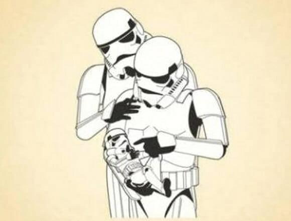 FOTOFUN - Família Stormtrooper.