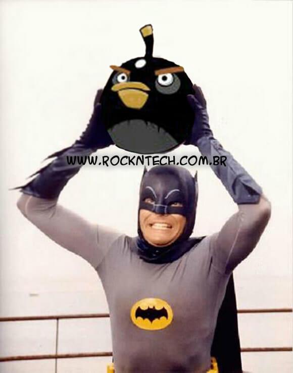 FOTOFUN - A nova arma do Homem Morcego.