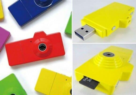 Fuuvi Pik - Câmera digital e leitor de cartões em um só gadget.