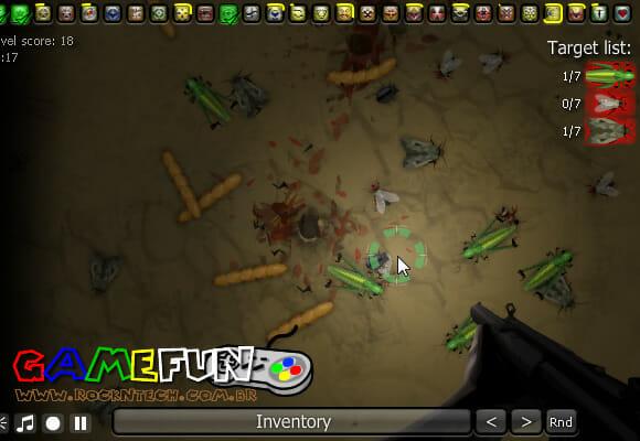 GAMEFUN - Insectonator.