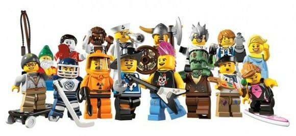 Chegaram os novos Minifigures Série 4 da LEGO!