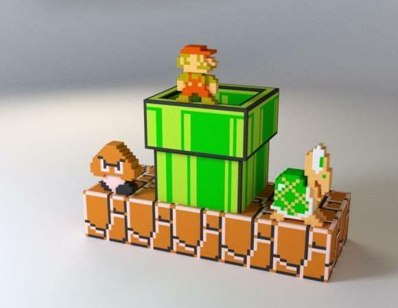 Mariorama - O enfeite perfeito para ter na mesa dos fãs de Super Mario.