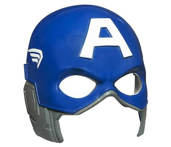 Máscara do Capitão América.