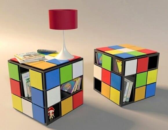 KUB+ - Mesa de centro Cubo mágico para turbinar o lar dos geeks.