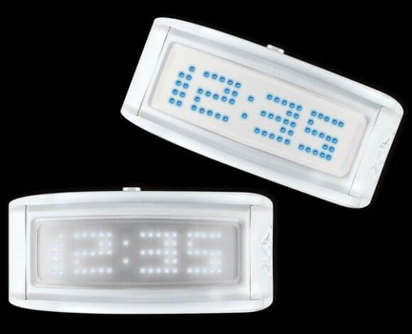 LED Guru - Relógios de pulso de LED que também funcionam como letreiros.