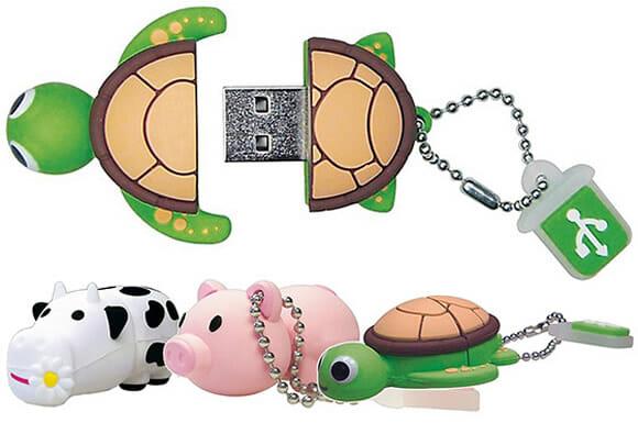 Emtec Animal Series - Os pen drives que faltavam em sua coleção!