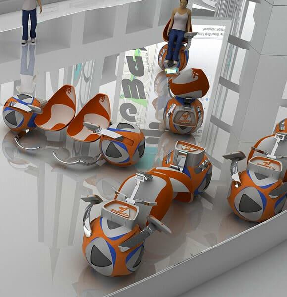 Designer cria poltrona conceito que remete às poltronas eletrônicas do filme WALL-E.