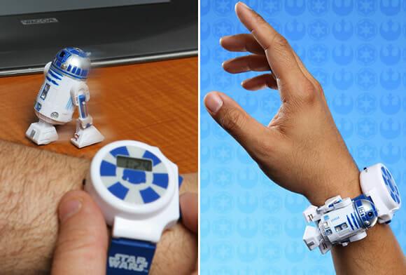 Kit geek: R2-D2 controlado por um relógio controle remoto (vídeo)