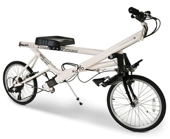 Rowbike - Nela você pedala como se estivesse remando! (com vídeo)