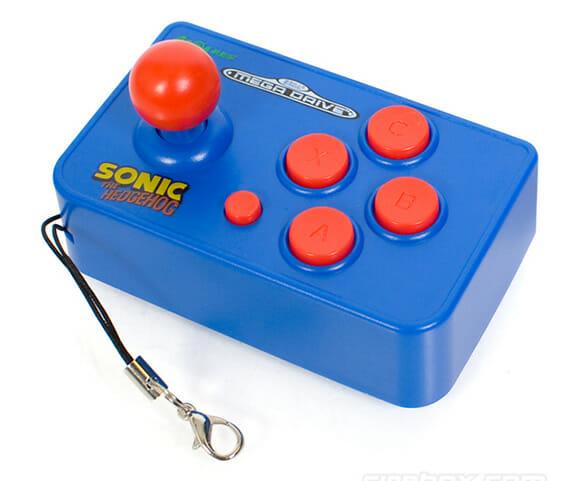 Chaveiro Sega Arcade Nano - Diversão em Miniatura! (com vídeo)