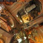 Na estação espacial em 360º.
