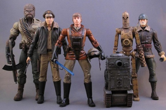 Action figures Star Wars 1942.