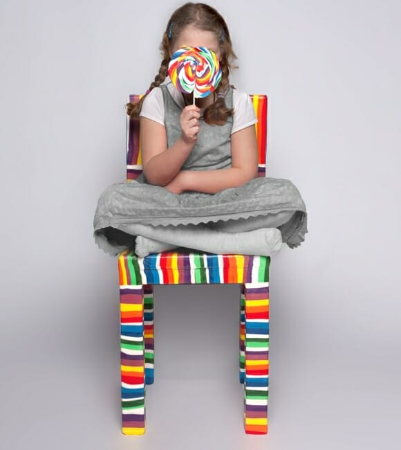 Sugar Chair - A cadeira pirulito.