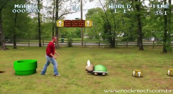 VIDEOFUN - Super Mario na vida real.