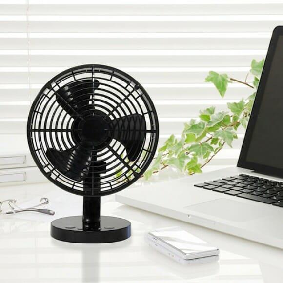 monoDO - Um ventilador USB que atende a comandos de voz.