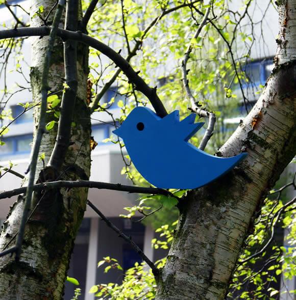 TweetingSeat - O curioso banco dos tweets.