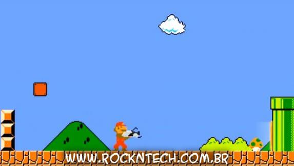 VIDEOFUN - Já imaginou como seria se o Super Mario tivesse uma Arma Portal?