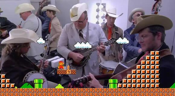 VIDEOFUN - A música tema do Super Mario assim você nunca ouviu!