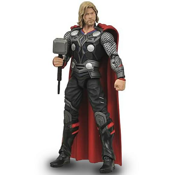 Action figure do Thor baseado no filme.