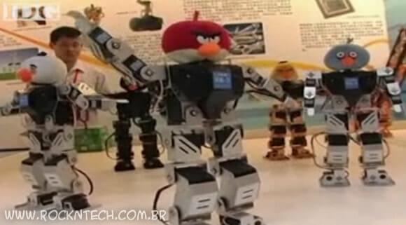 Vem aí os Robôs Angry Birds! (com vídeo)