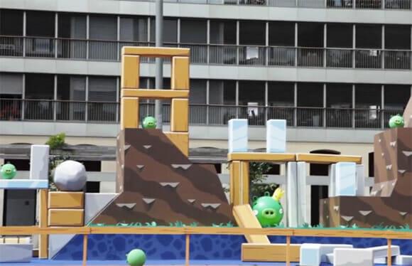 Angry Birds na vida real e em tamanho real! (com vídeo)
