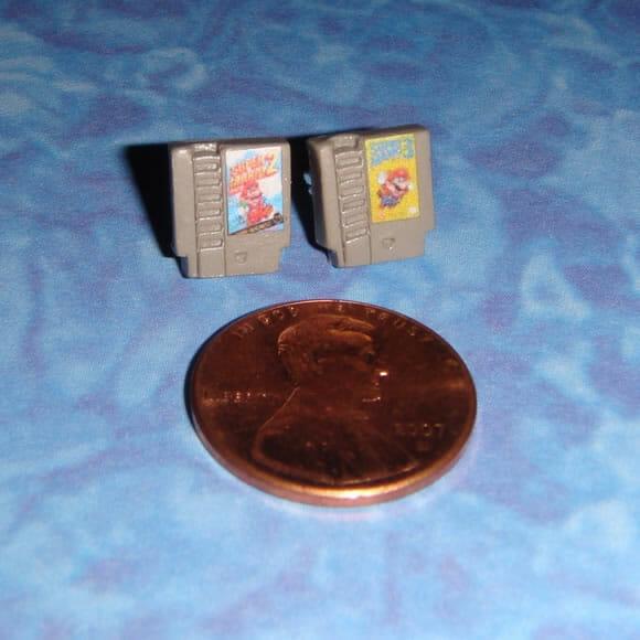 Brincos em forma de cartuchos do Nintendinho 8-bits