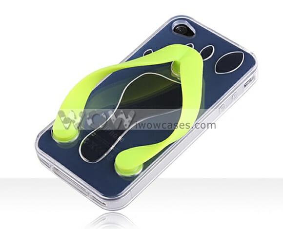 Um chinelo para seu iPhone!