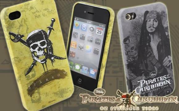 Case Piratas do Caribe 4 para iPhone 4.
