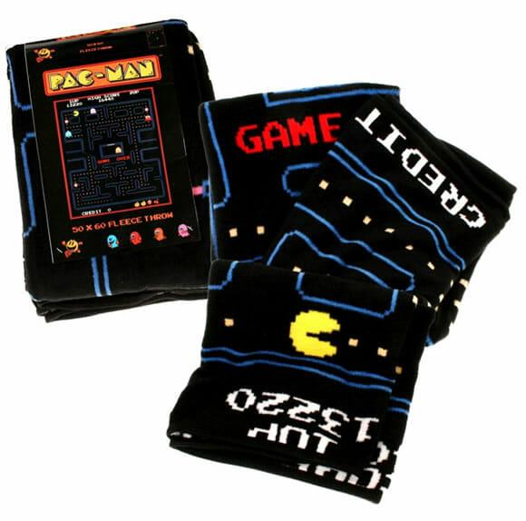 Cobertores do Pac-Man para aquecer os geeks neste inverno.