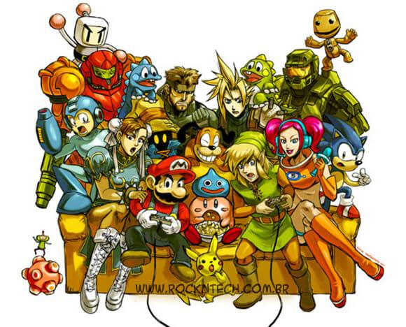 FOTOFUN - Encontro na Casa do Super Mario.