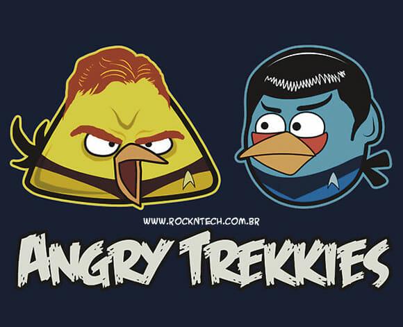 FOTOFUN - Angry Birds + Star Trek = Angry Trek.