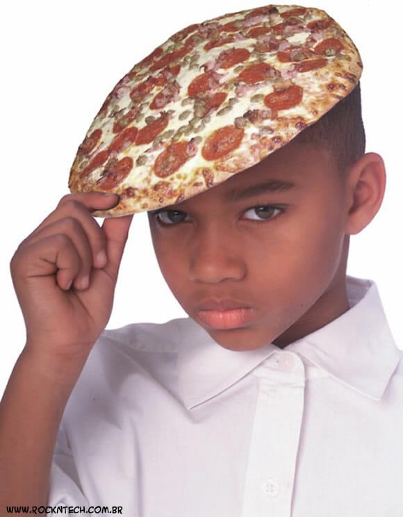 FOTOFUN - Boina Pizza: Original e divertida!