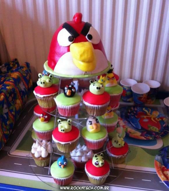 FOTOFUN - Cupcakes Angry Birds.