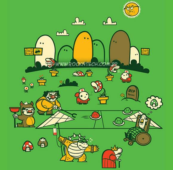 FOTOFUN - Super Mario Game Over.