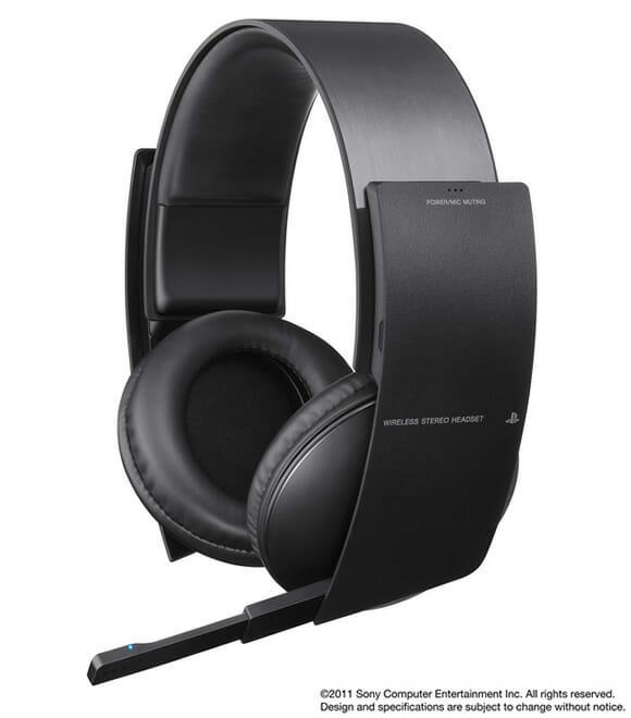 Sony lançará Headset Wireless para PS3 com sistema de som Surround.