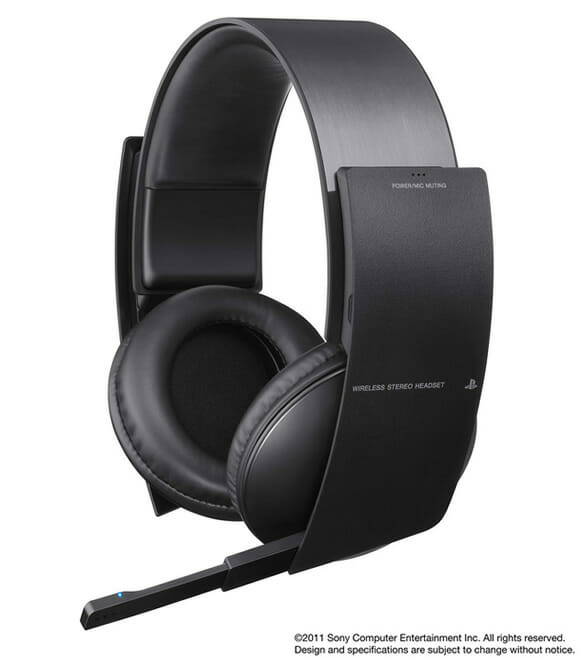 Sony lançará Headset Wireless para PS3 com sistema de som Surround.