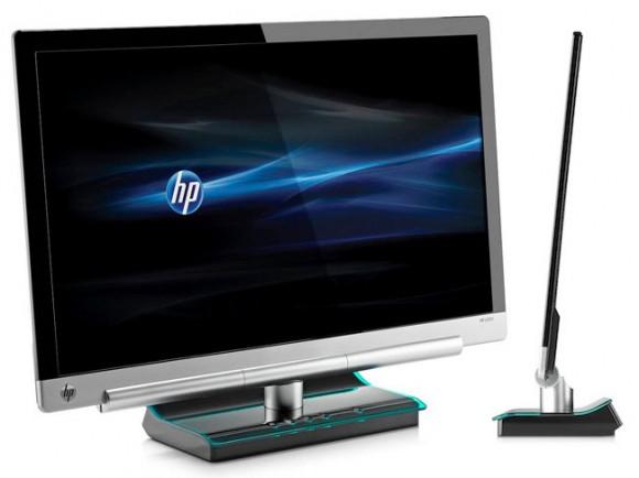 Novo monitor de LED da HP oferece 23 polegadas com menos de 1 cm de espessura!