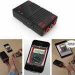 Aparelho especial transforma seu iPhone, iPod Touch ou iPad em um Multímetro Digital.