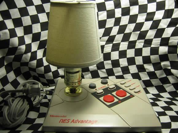 Luminária de gamer é assim!