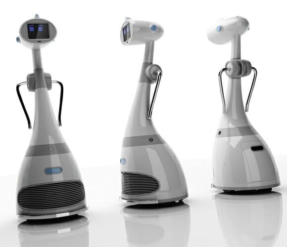 Luna - A primeira robô pessoal do mundo que pode receber upgrade!