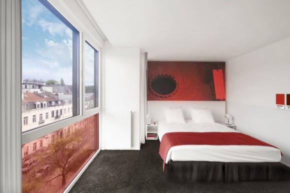 Com vocês: O Hotel mais colorido do mundo decorado com centenas de Pantones!
