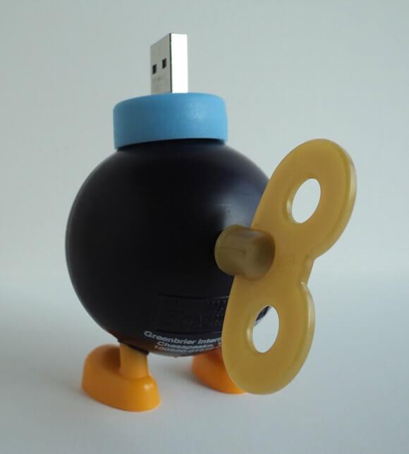 Pen drive Bob-Omb não irá destruir o seu PC!