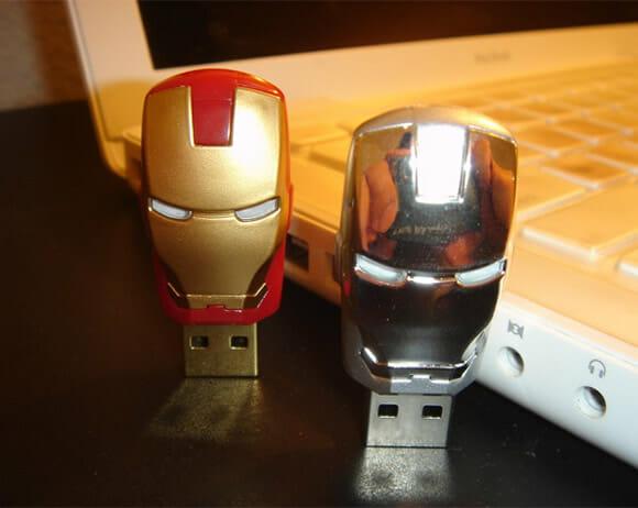 Pen drive do Iron Man 2.