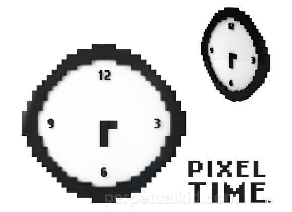 Pixel Time - O relógio perfeito para casa dos geeks.
