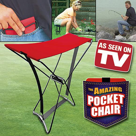 Pocket Chair - Carregue sua cadeira no bolso por onde for! (com vídeo)