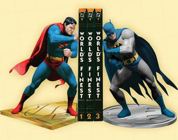 Porta-livros Super Homem vs Batman