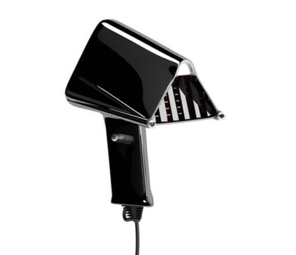 Secador de cabelos do Darth Vader.